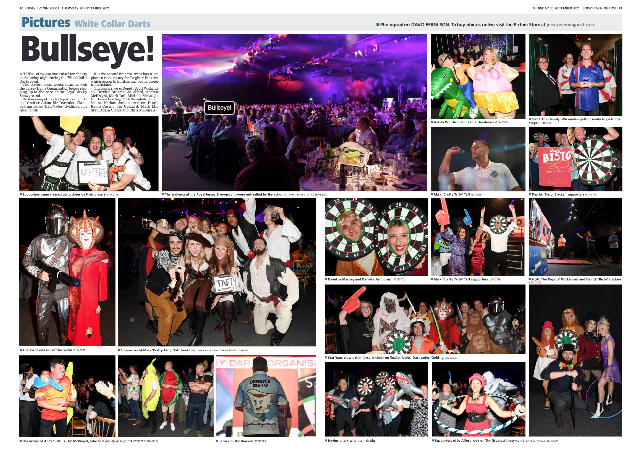 Bullseye - The JEP's coverage of our amazing event